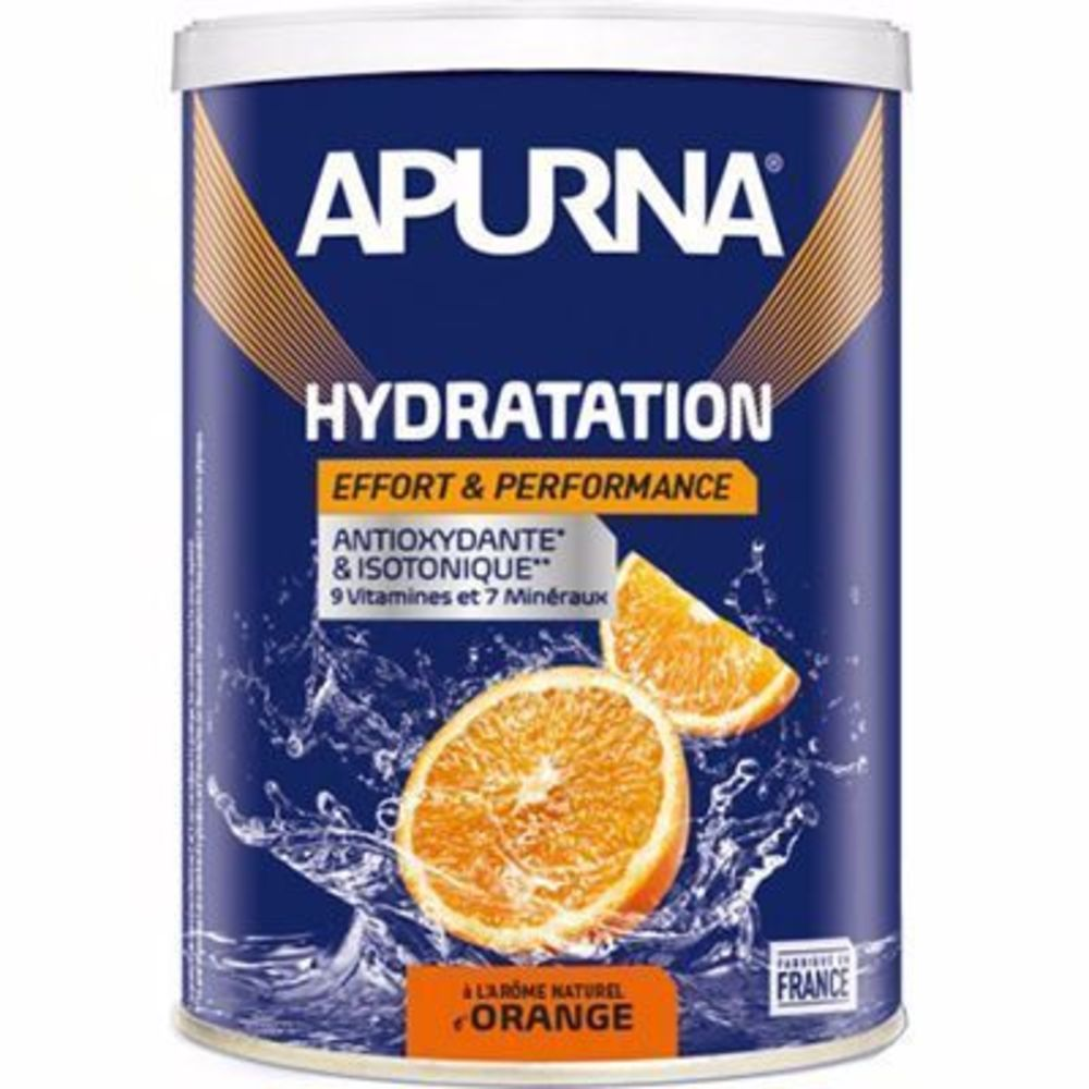 Apurna boisson hydratation orange pot 500g - apurna -216658
