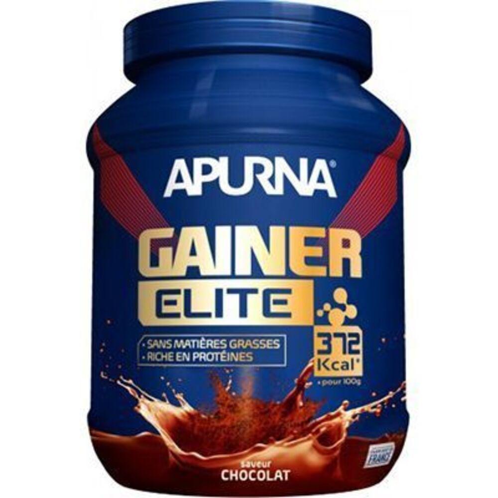Apurna gainer elite chocolat 1,1kg - apurna -225306