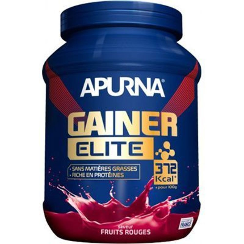 Apurna gainer élite fruits rouges 1,1kg Apurna-221550