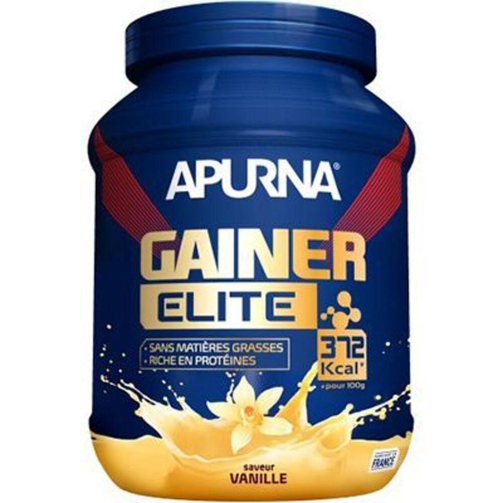 Apurna gainer élite vanille 1,1kg - apurna -221551