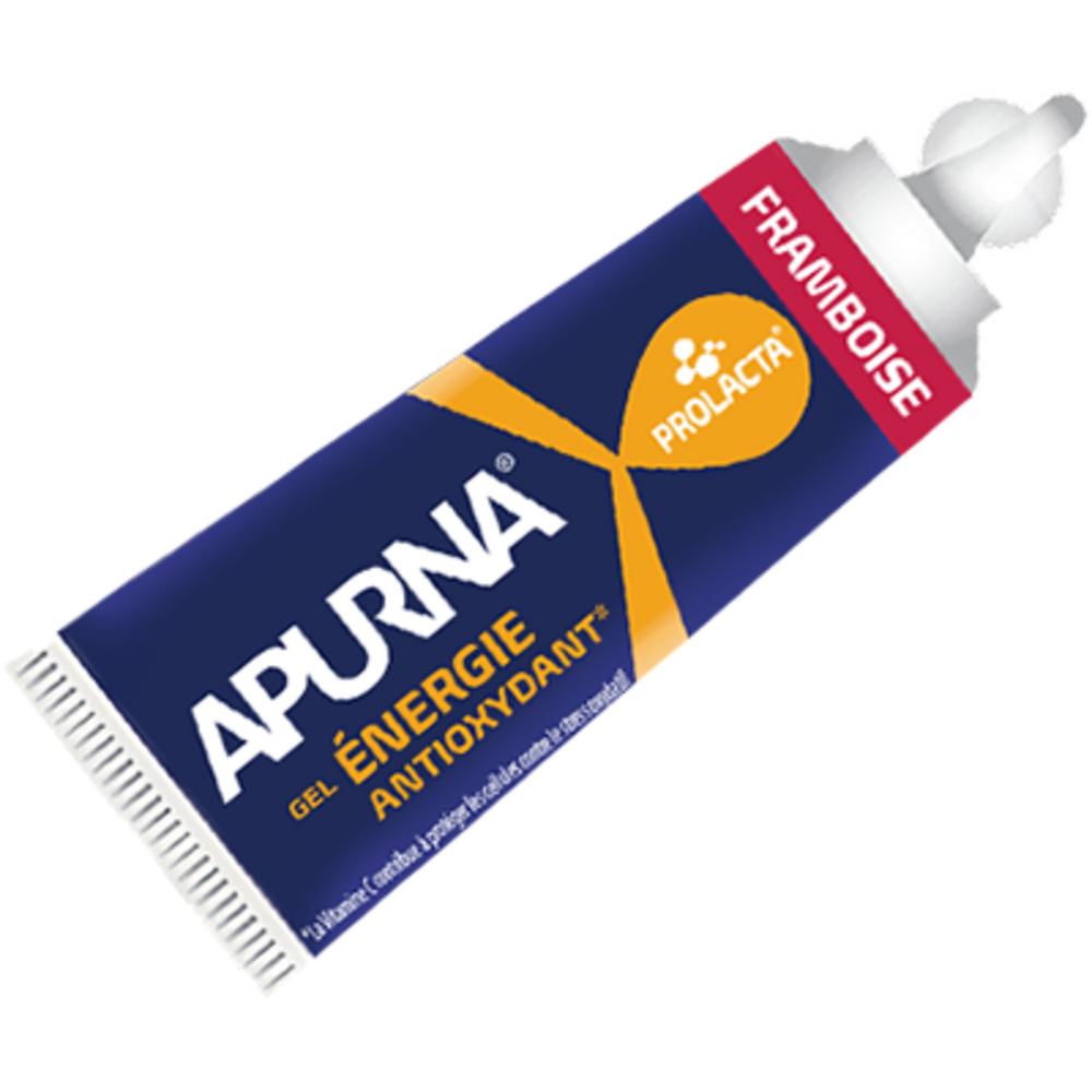 Apurna gel énergétique framboise - 27g - 27.0 g - apurna -207342