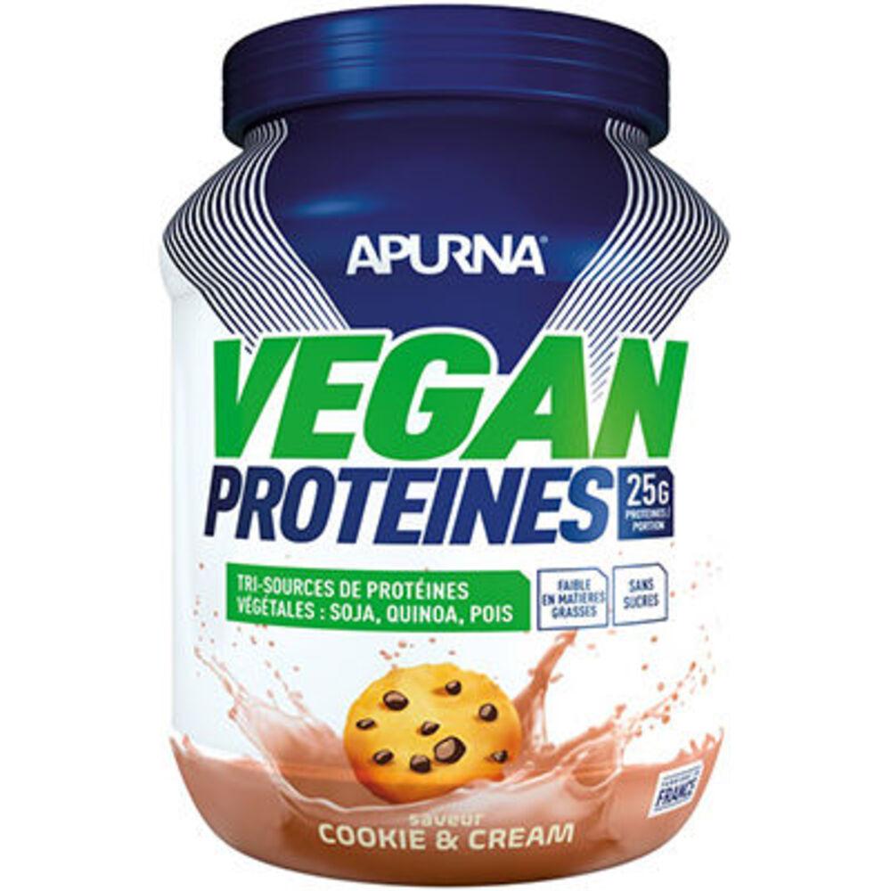 Apurna vegan protéines cookie & cream 660g Apurna-225307
