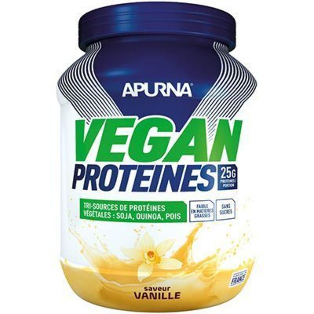 Apurna vegan protéines vanille 660g Apurna-225308