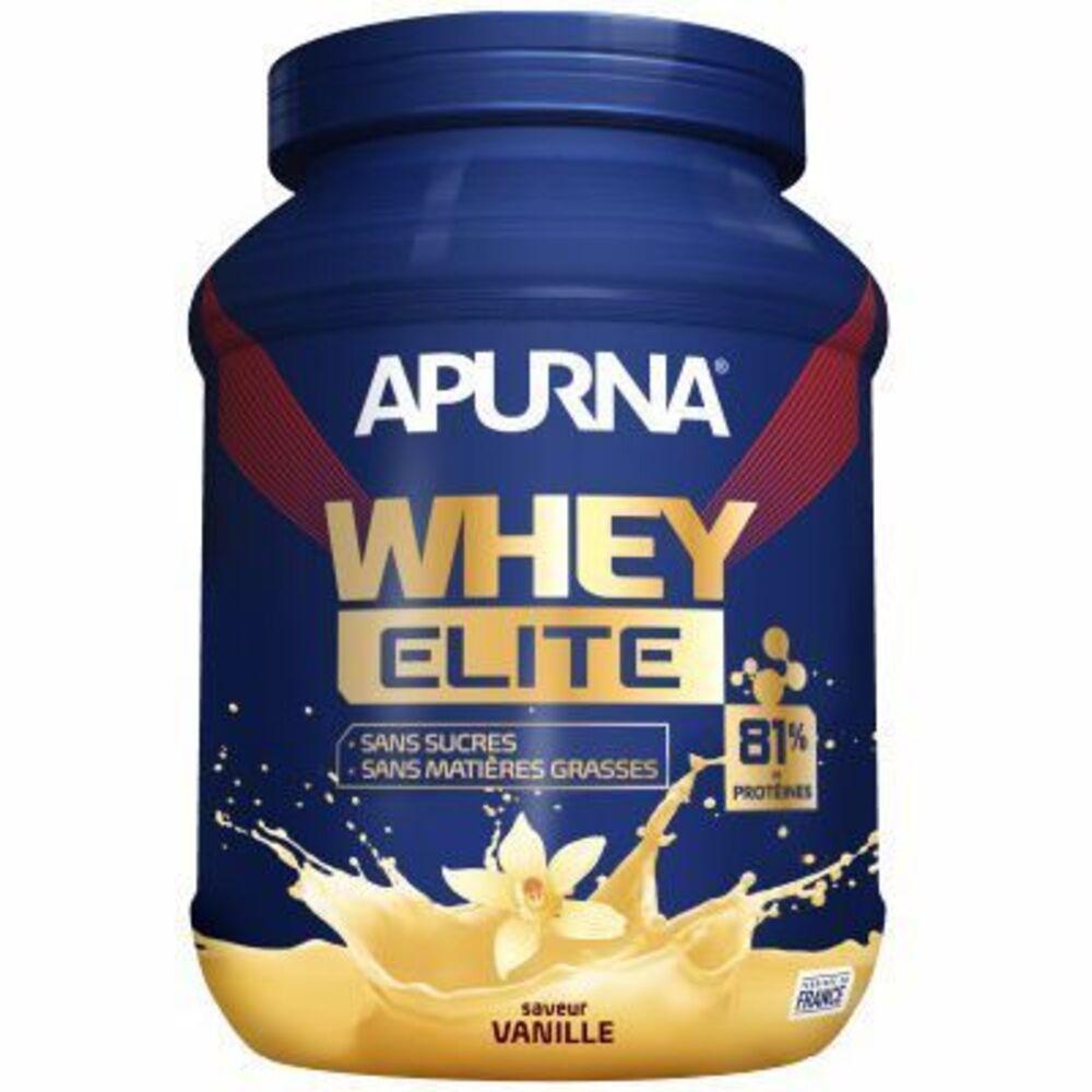 Apurna whey elite isolat saveur vanille pot 750g Apurna-216646
