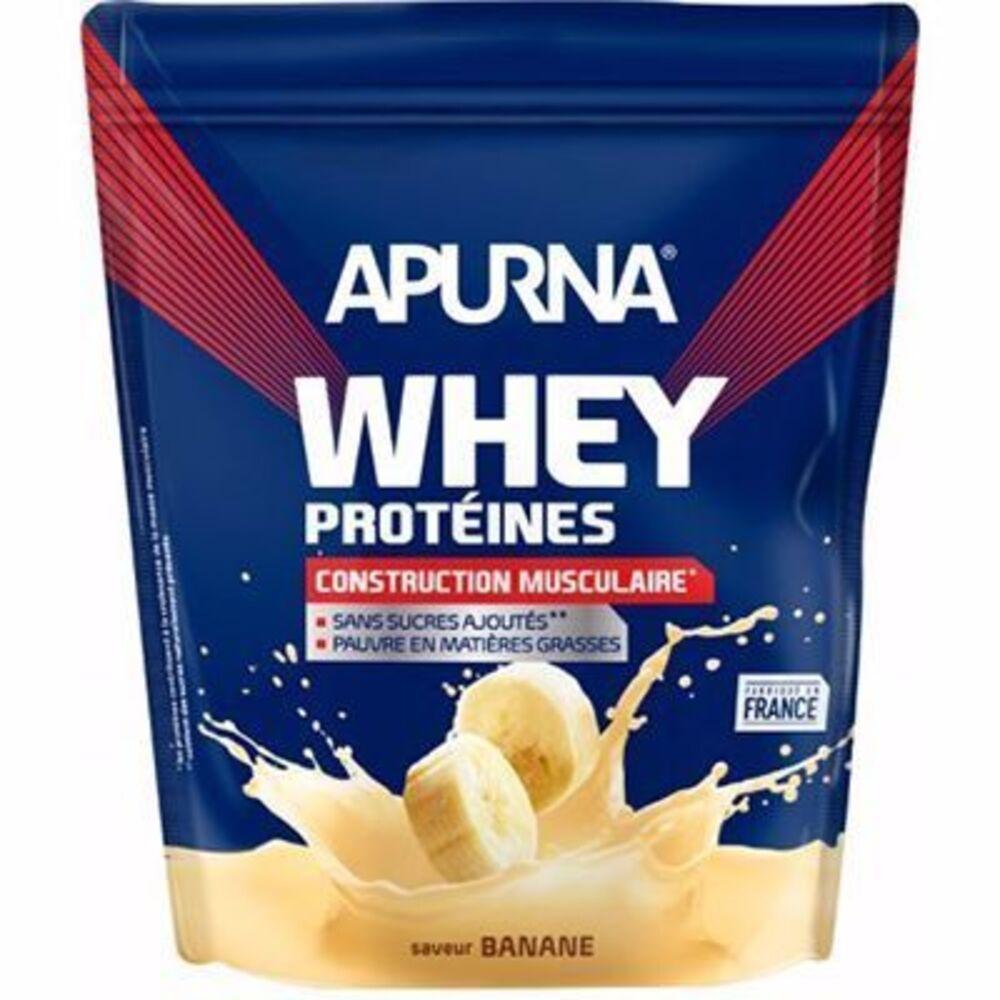 Apurna whey protéines saveur banane dyopack 750g - apurna -216647