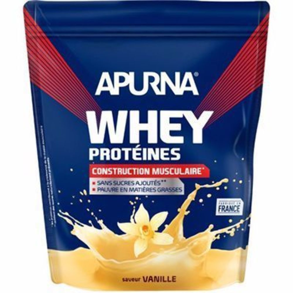 Apurna whey protéines saveur vanille dyopack 750g - apurna -216652