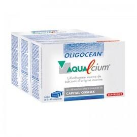 Aqualcium programme - 180.0 unites - gamme oligocean - super diet Calcium marin-7435