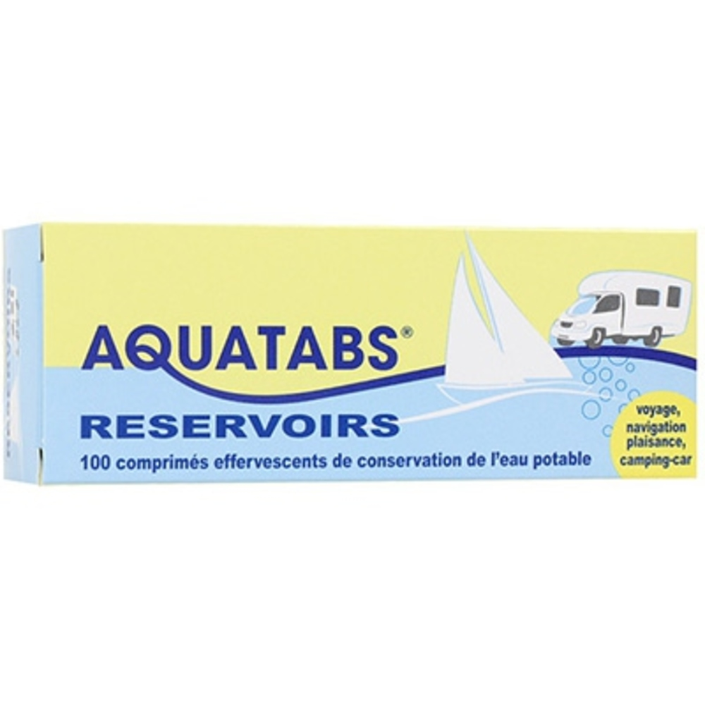 AQUATABS 100 Comprimés Effervescents - Aquatabs -211097