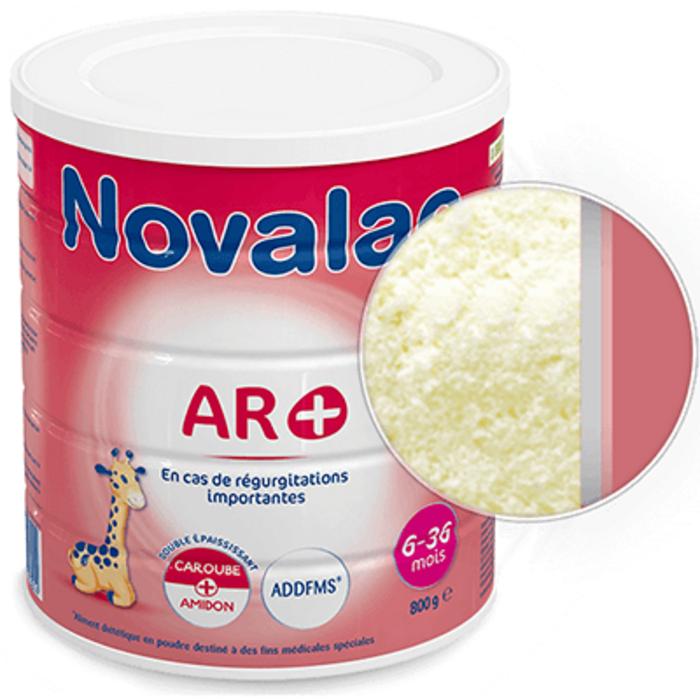 Ar+ lait 2ème âge 6-36mois 800g Novalac-219708