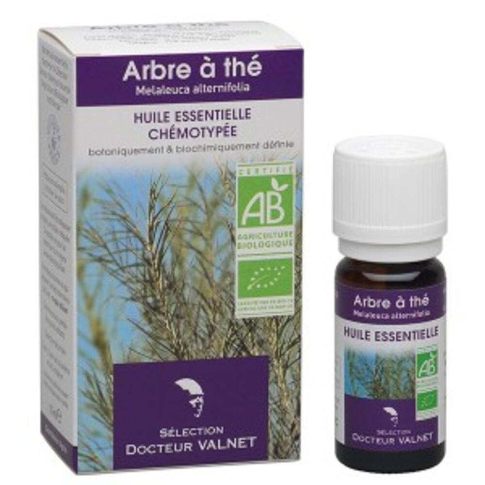 Arbre à thé (tea tree) bio - 10.0 ml - les huiles essentielles bio - dr. valnet Peau - poux-15141