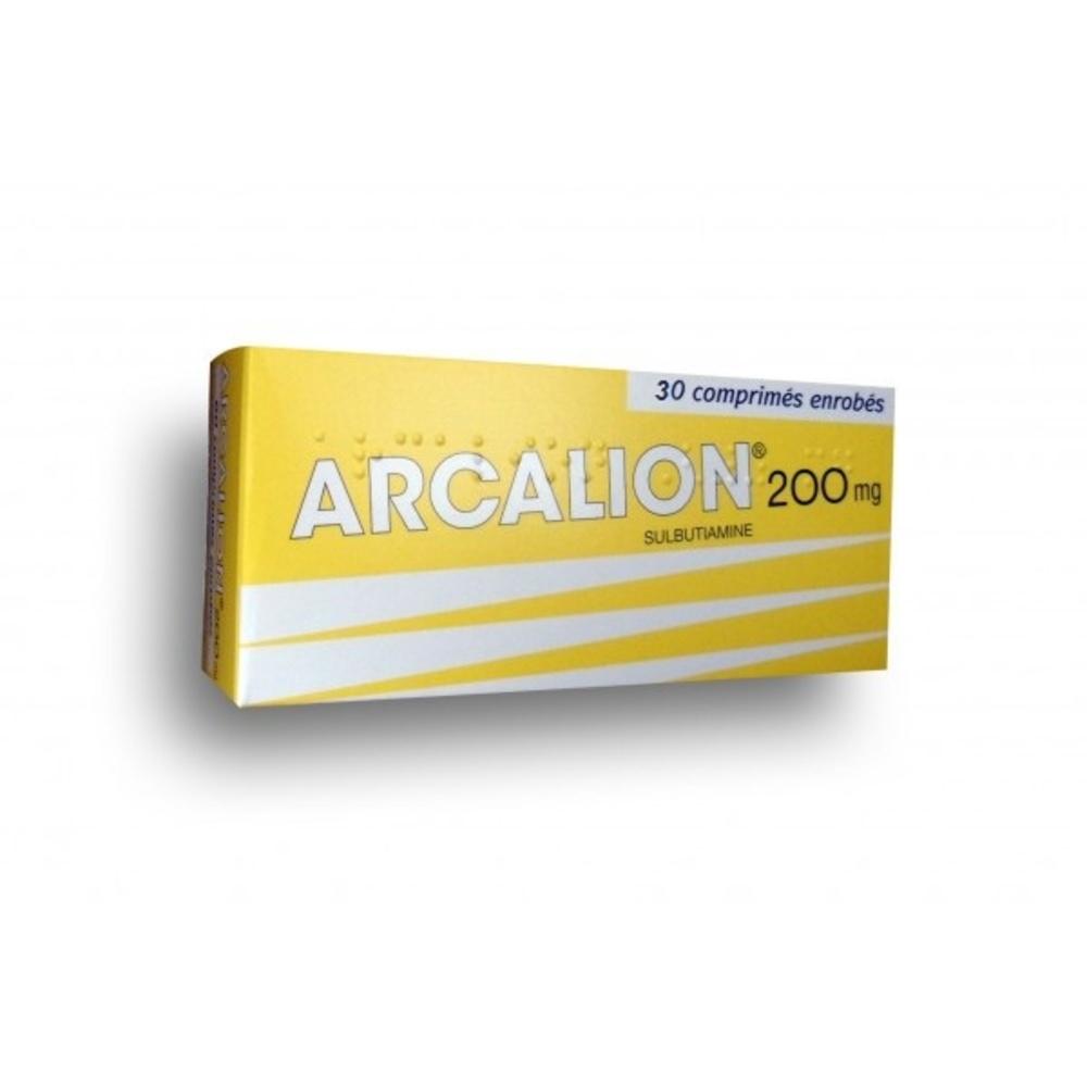 Arcalion 200mg - 30 comprimés - laboratoire servier -193028