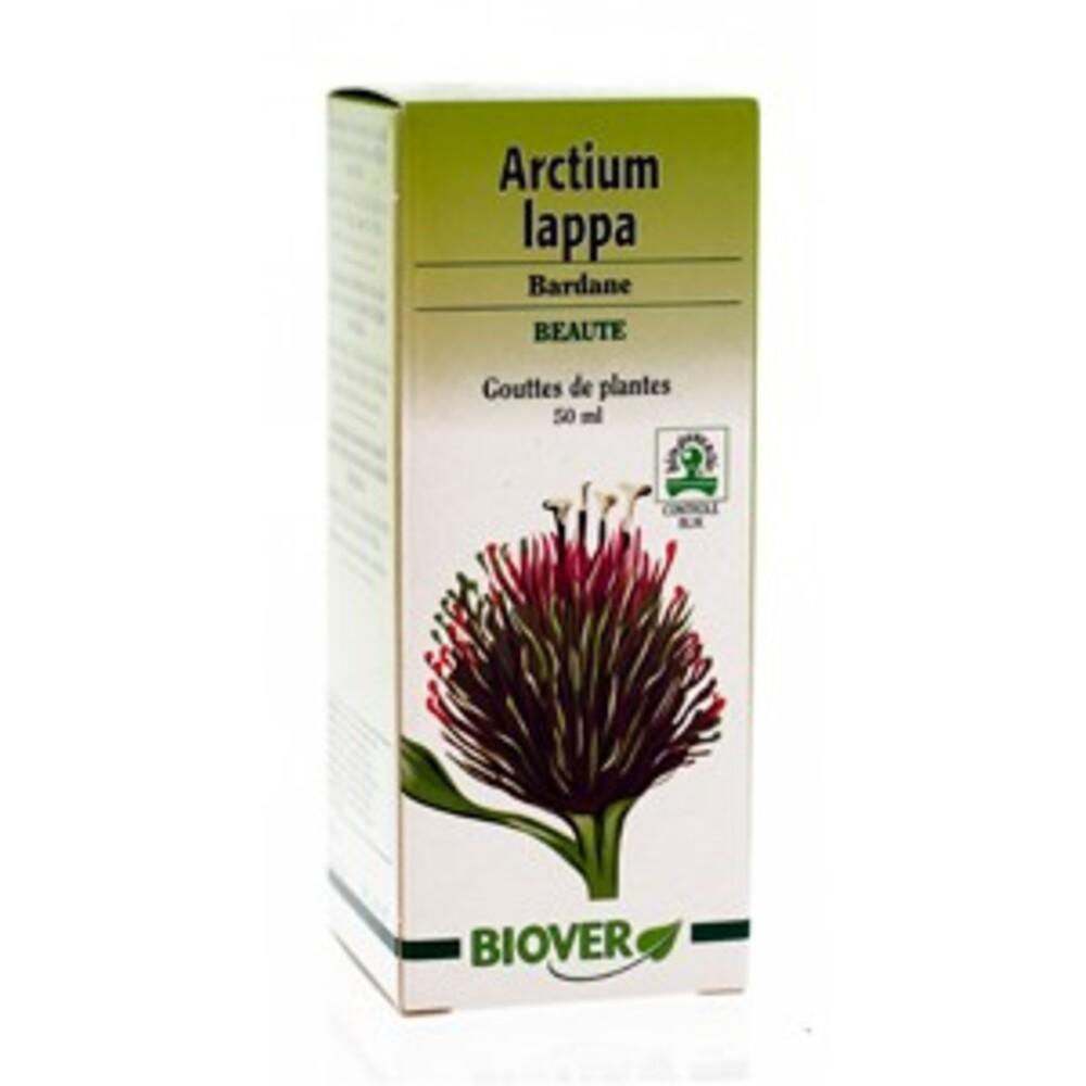 Arctium lappa (bardane) bio - 50.0 ml - gouttes de plantes - teintures mères - biover Propriétés dépuratives sur la peau-8950