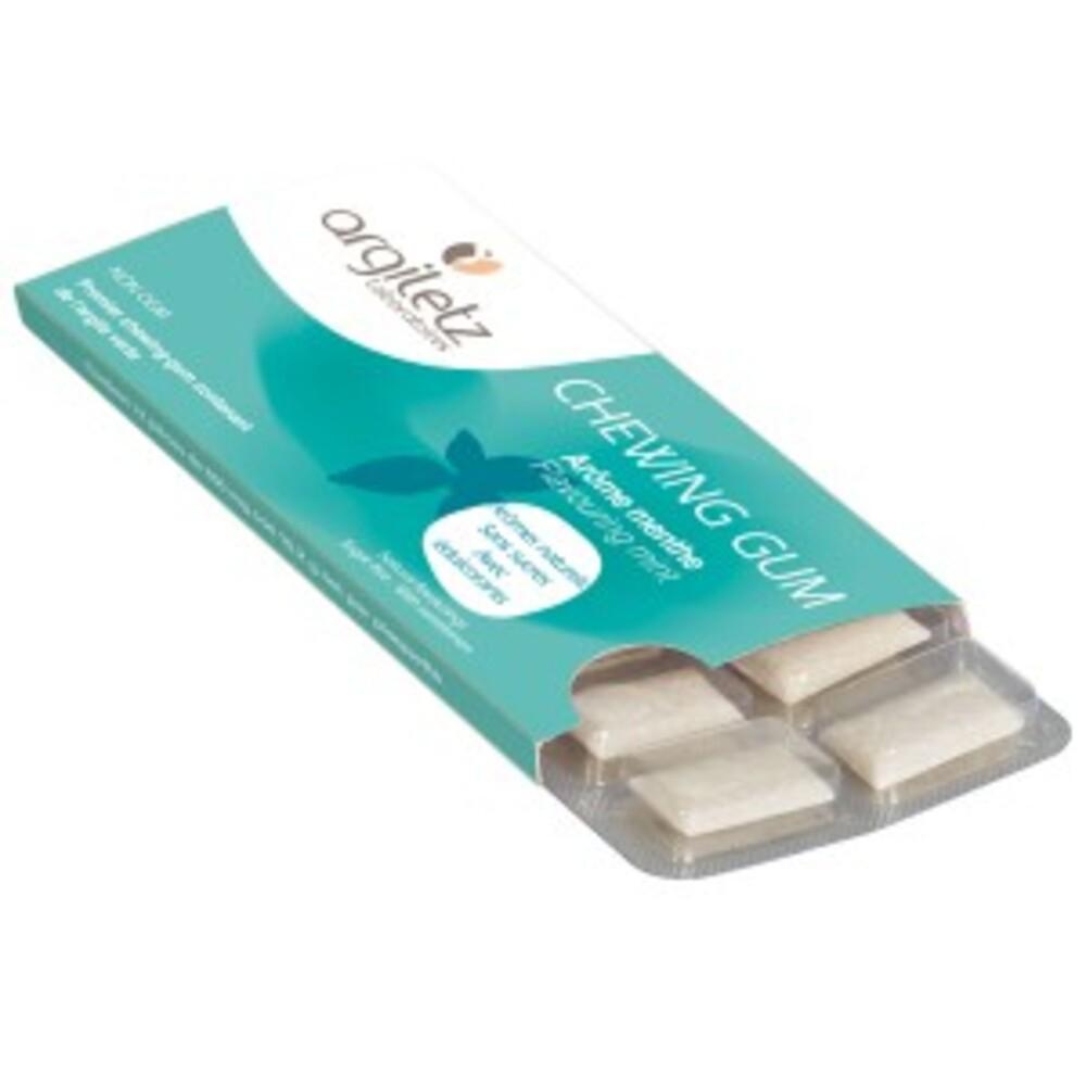 Argil'gum menthe - 1 étui - chewing gum - argiletz -139425