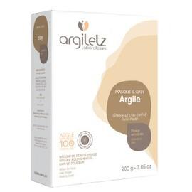 Argile ghassoul ultra ventilée - 200.0 g - argile couleur - argiletz -133492