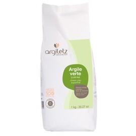 Argile verte surfine - 1000.0 g - poudre d'argile verte - argiletz -9618