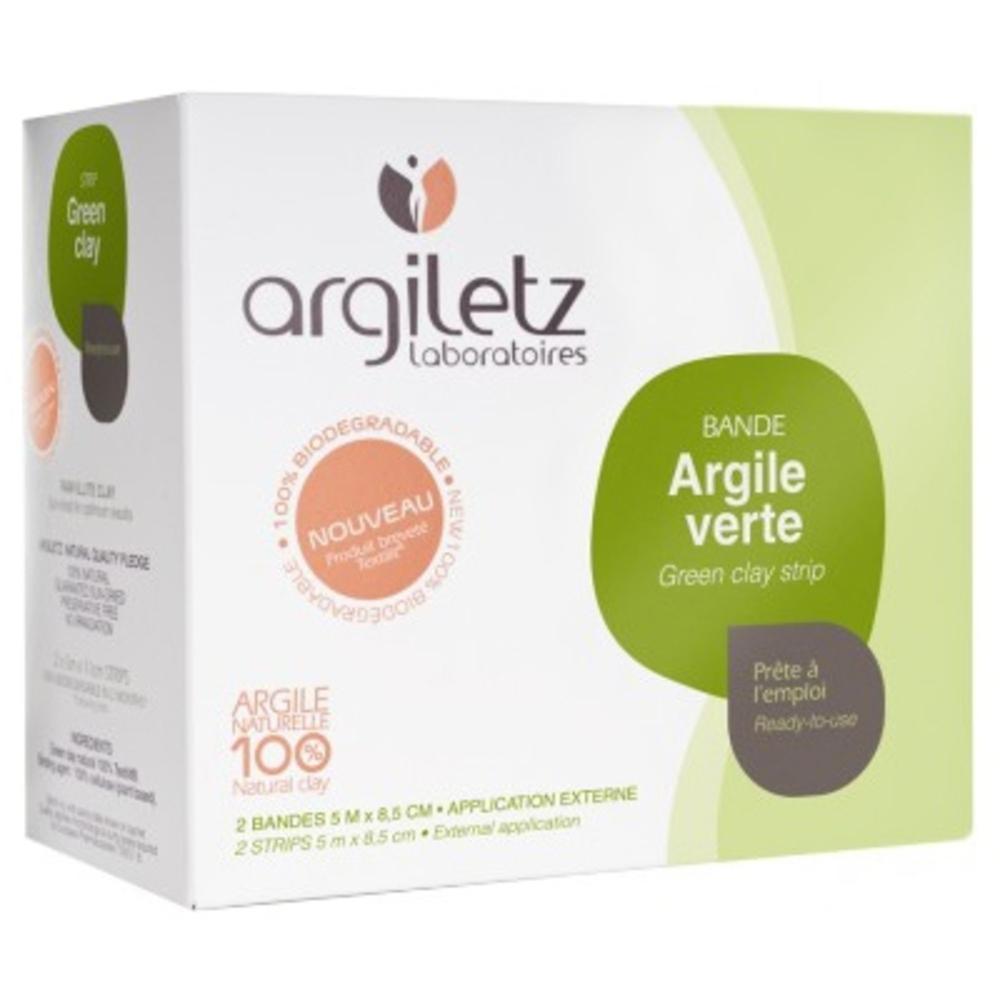 Argiletz bandes argile verte x2 - argile prête à l'emploi - argiletz -2664
