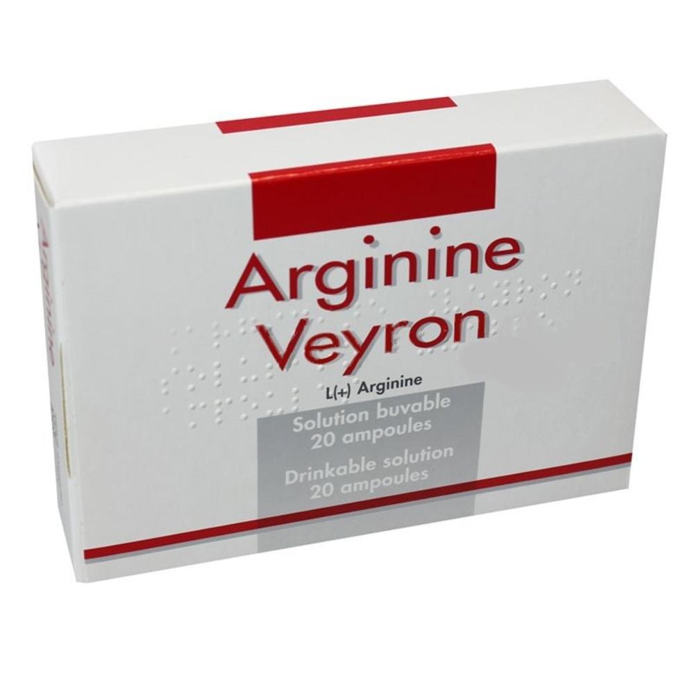 Arginine veyron - 20 ampoules x Pierre fabre-193948