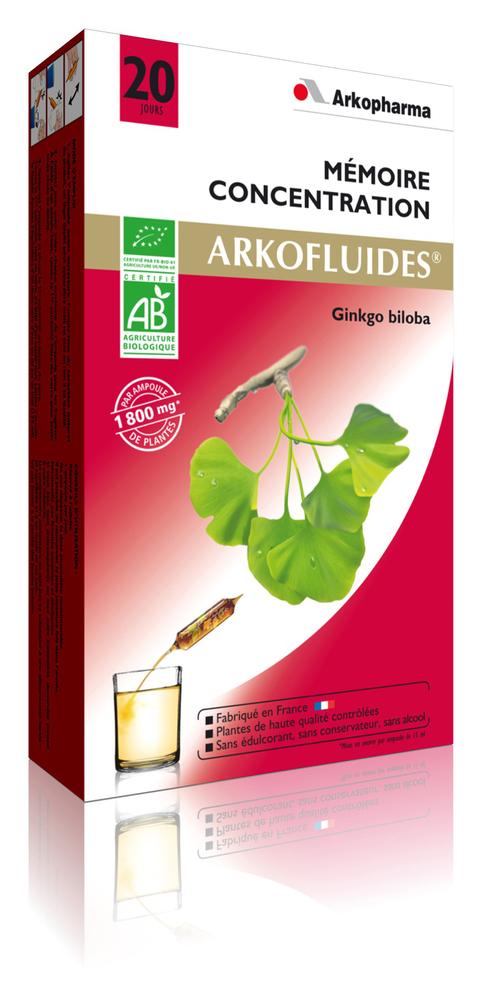Arkofluides ginkgo biloba bio - 300.0 ml - jambes légères - arkopharma Arkofluides Ginkgo Biloba Bio-147902
