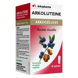 Arkogelules arkolutéine - 45 gélules - vision - arkopharma Arkogélules Arkolutéine-191881