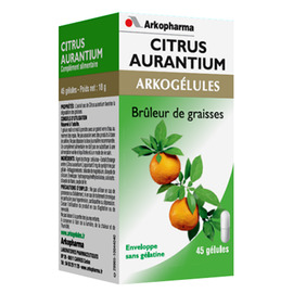 Arkogelules citrus aurantium - 45 gélules - 45.0  - brûleur - arkopharma Arkogélules Citrus Aurantium-191854