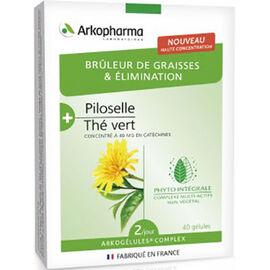 Arkogélules complex brûleur de graisses & elimination 40 gélules - arkopharma -225970