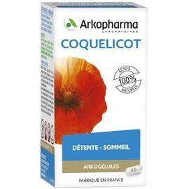 Arkogelules coquelicot - 45 gélules - détente - arkopharma Arkogélules Coquelicot-147727