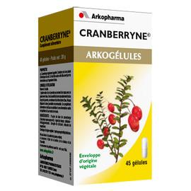 Arkogelules cranberryne - 45 gélules - arkopharma -147835