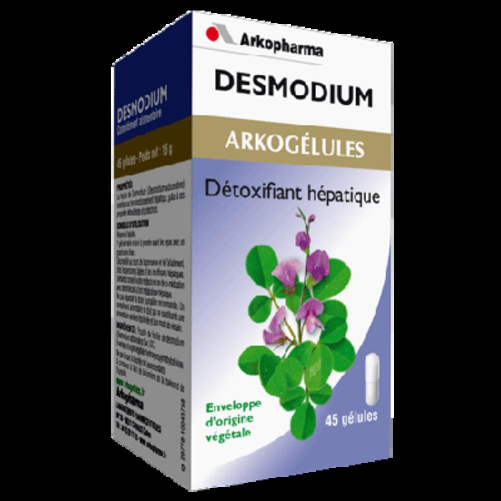 Arkogelules desmodium - 45 gélules - détoxifiant - arkopharma Arkogélules Desmodium-182853