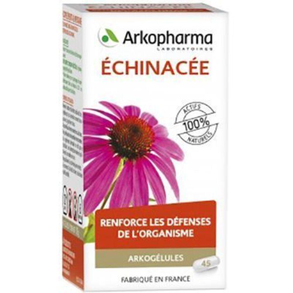 Arkogelules echinacée - 45 gélules - défense de l'organisme - arkopharma Arkogélules Échinacée-147769