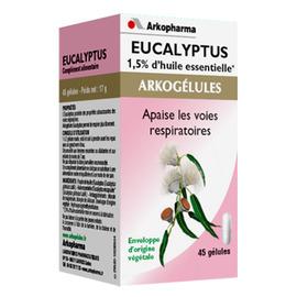 Arkogelules eucalyptus - 45 gélules - gênes respiratoires - arkopharma Arkogélules Eucalyptus-147848