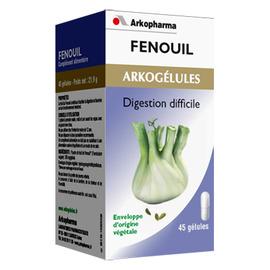 Arkogelules fenouil - 45 gélules - bien-être digestif et transit - arkopharma Arkogélules Fenouil-147876