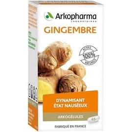 Arkogelules gingembre - 45 gélules - tonus vitalité - arkopharma Arkogélules Gingembre-147896