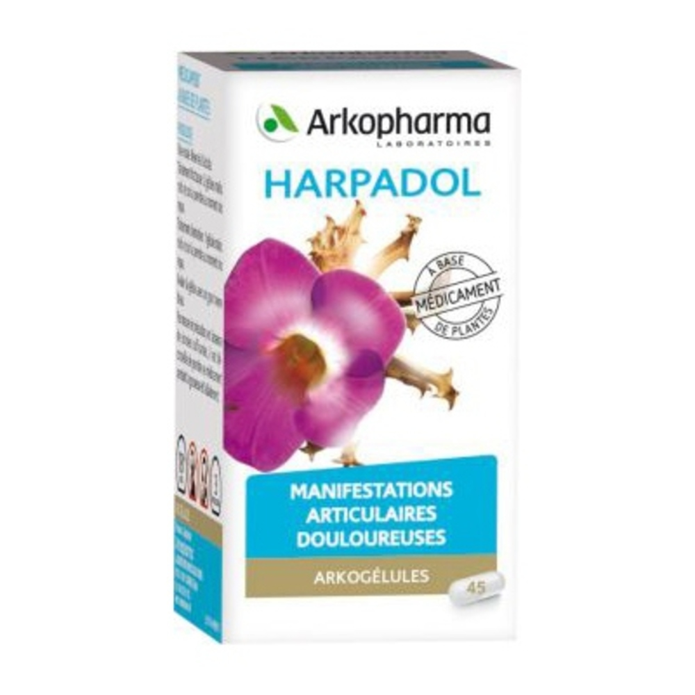 Arkogélules harpadol - 45 gélules - arkopharma -192897