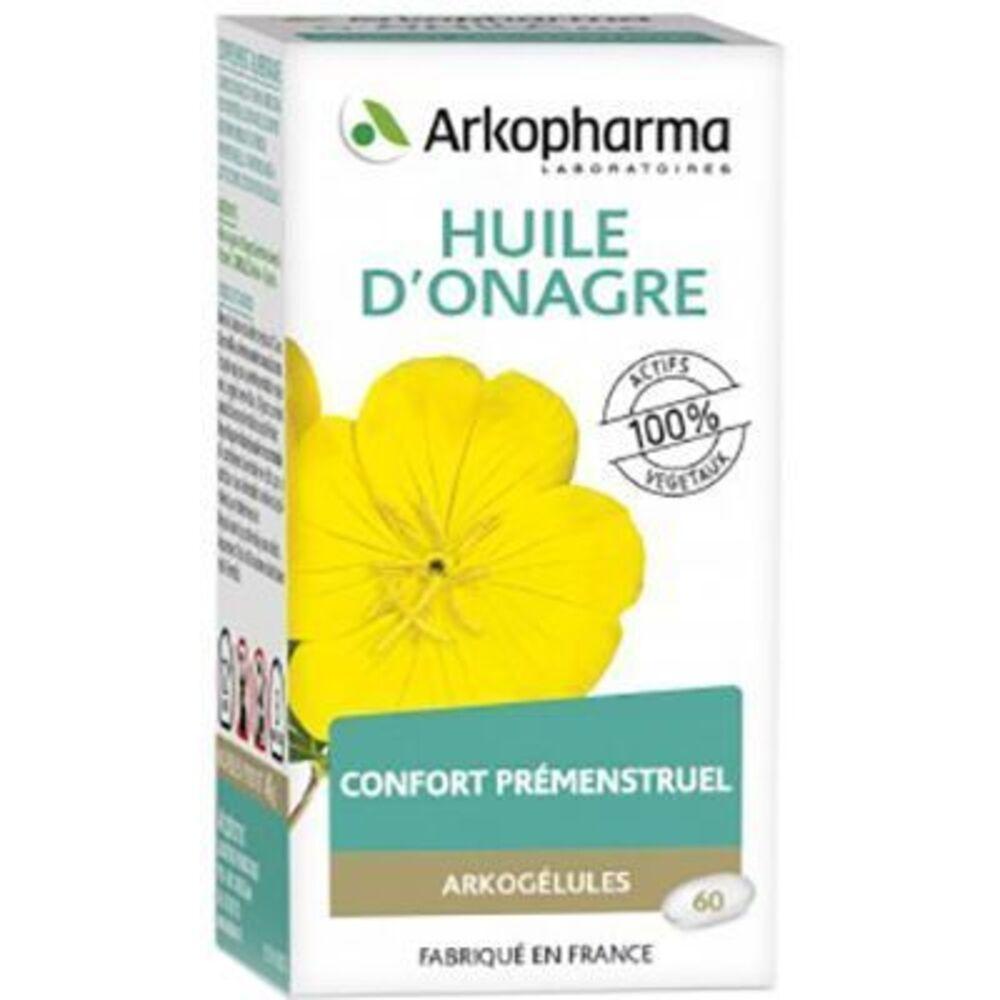 Arkogelules huile d'onagre - 60 capsules - 60.0  - troubles féminins - arkopharma Arkogélules Huile d'Onagre-191845