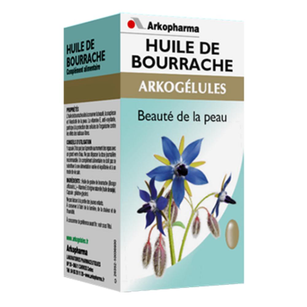 Arkogelules huile de bourrache - eco - 180.0  - jeunesse et eclat de la peau - arkopharma Arkogélules Huile de Bourrache-191791