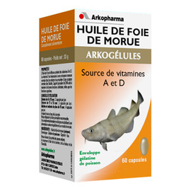 Arkogelules huile de foie de morue - arkopharma -178702