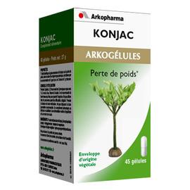Arkogelules konjac - 45 gélules - 45.0  - diététique - arkopharma Arkogélules Konjac-147761