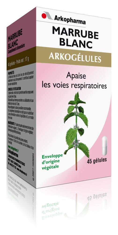 Arkogélules marrube blanc - gênes respiratoires - arkopharma Arkogélules Marrube Blanc-147855