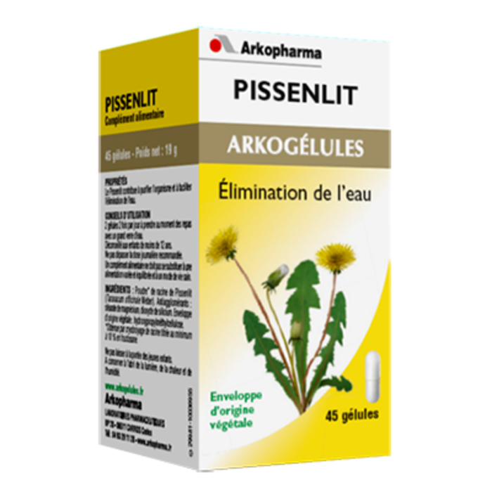 Arkogelules pissenlit - 45 gélules Arko pharma-148102