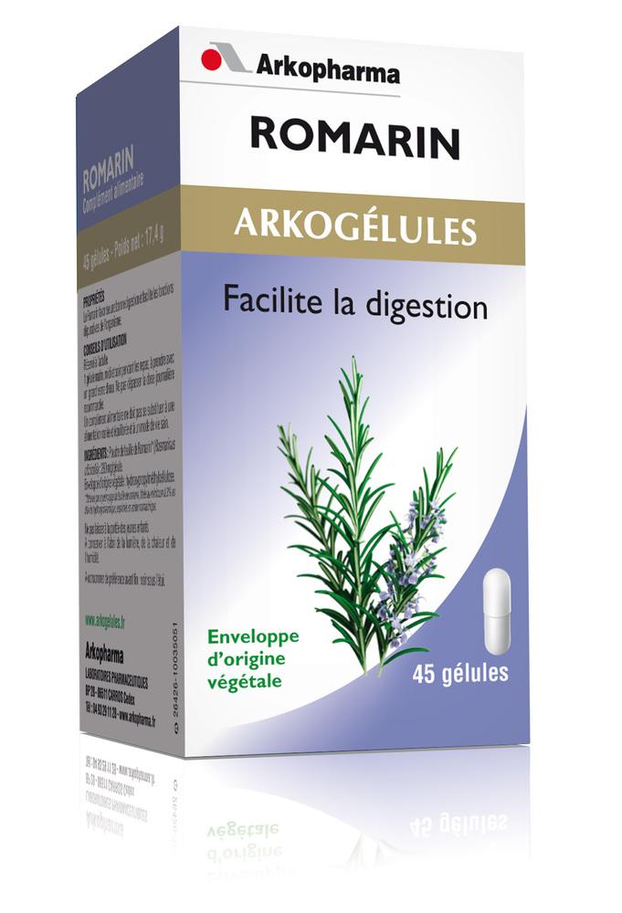 Arkogélules romarin - bien-être digestif et transit - arkopharma Arkogélules Romarin-191811