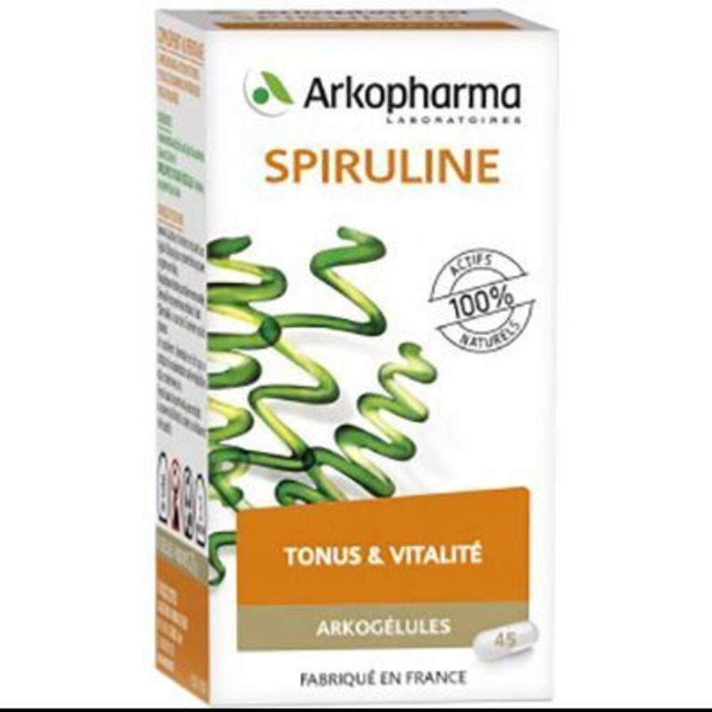 Arkogelules spiruline - 45 gélules - 45.0 unites - tonus vitalité - arkopharma Arkogélules Spiruline-147766