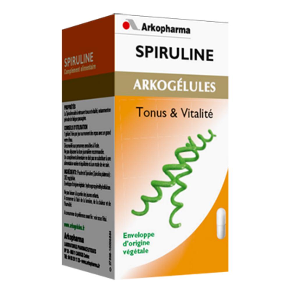 Arkogelules spiruline - format eco - 150.0 unites - tonus vitalité - arkopharma Arkogélules Spiruline-191841