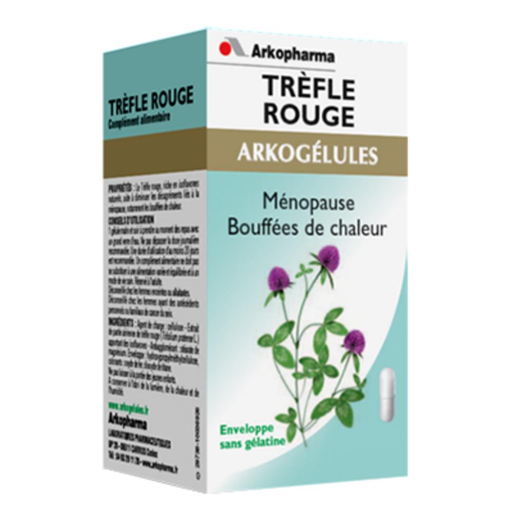 Arkogelules trèfle rouge - format eco - 150.0 unites - ménopause - arkopharma Arkogélules Trèfle Rouge-191843