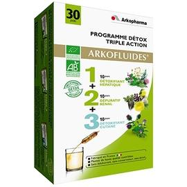 Arkopharma arkofluides programme détox triple action - détoxifiant - arkopharma Arkofluides® Programme Détox Triple Action Bio-191821