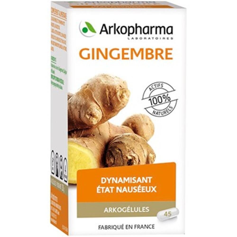 Arkopharma arkogelules gingembre - 45 gélules - tonus vitalité - arkopharma Arkogélules Gingembre-147896