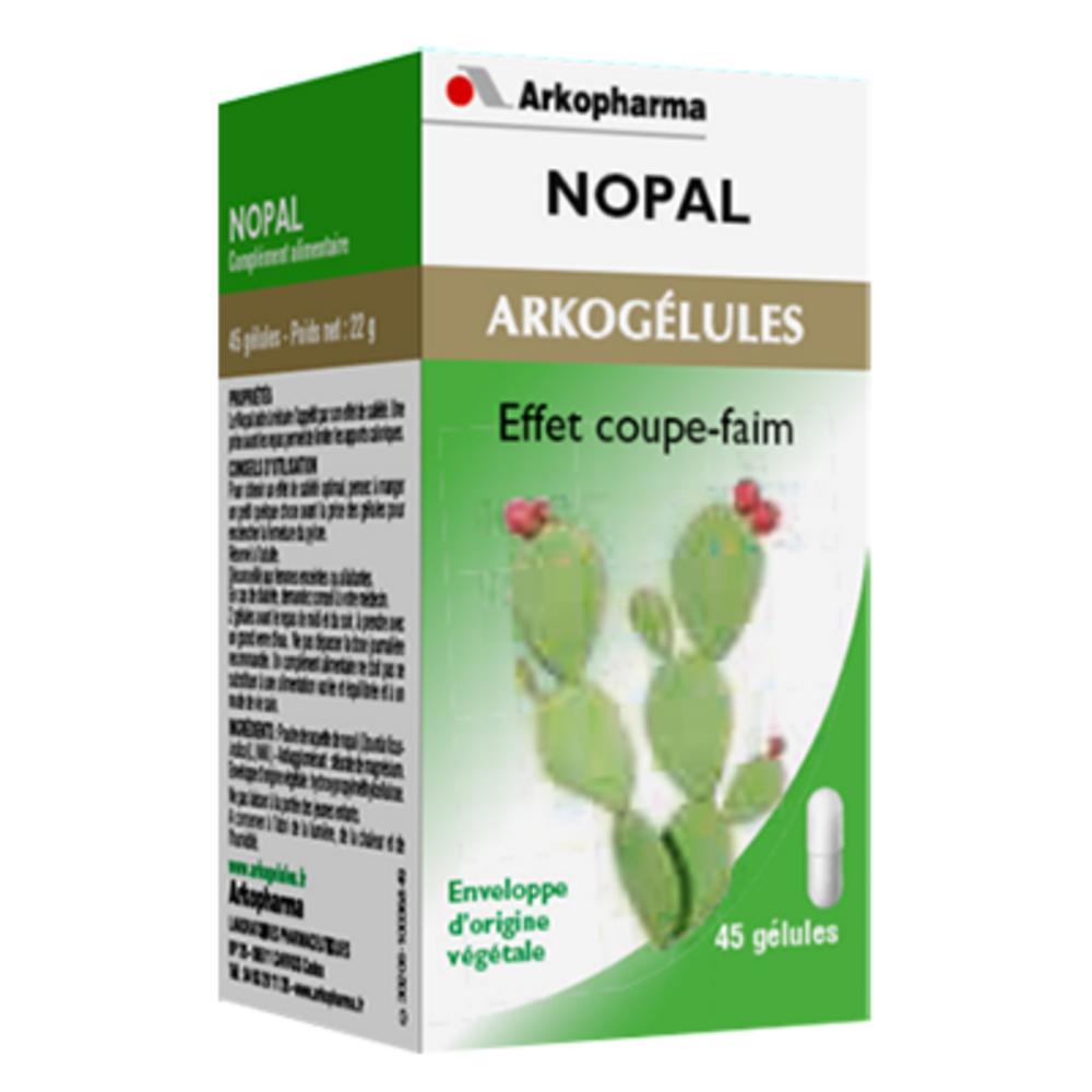 Arkopharma arkogelules nopal - 45 gélules - effet de satiété - arkopharma Arkogélules Nopal-147729