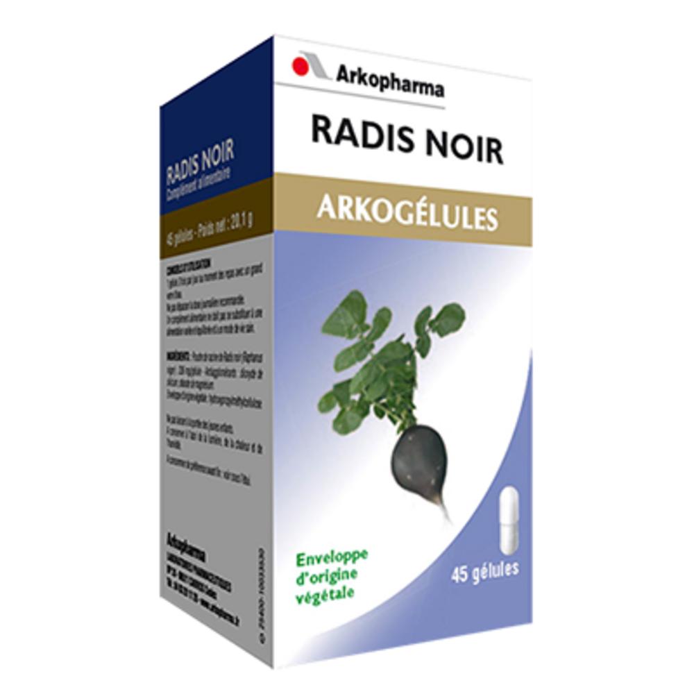 Arkopharma arkogelules radis noir - 45 gélules - arkopharma -147765
