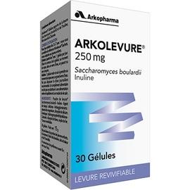 Arkopharma arkolevure - 30 gélules - arkopharma -205772