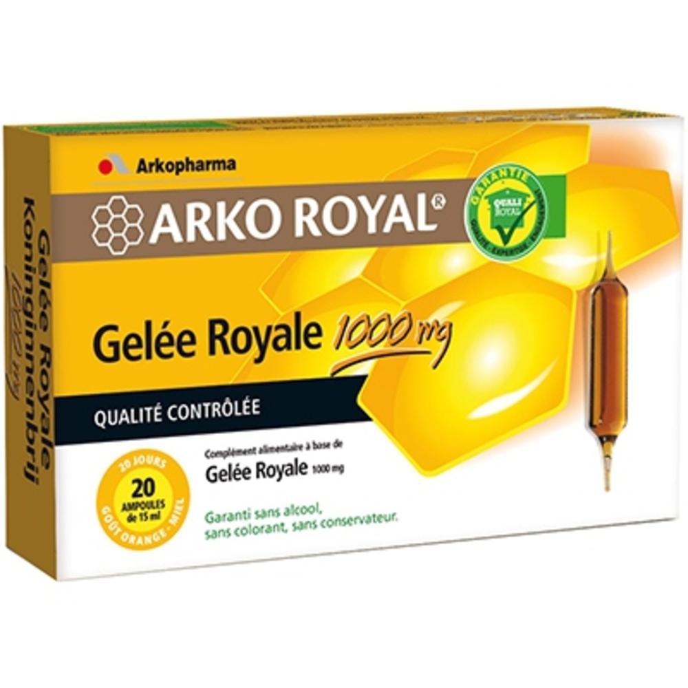 Arkopharma arkoroyal gelée royale 1000 mg - 20.0 unites - gelée royale - arkopharma ARKO ROYAL® Gelée Royale 1000mg-17181