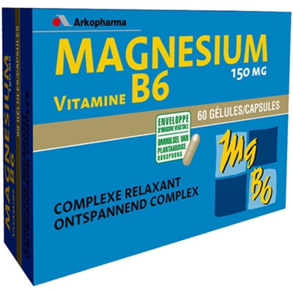 Arkopharma arkovital magnésium vitamine b6 - stress surmenage - arkopharma Magnésium et Vitamine B6-148117